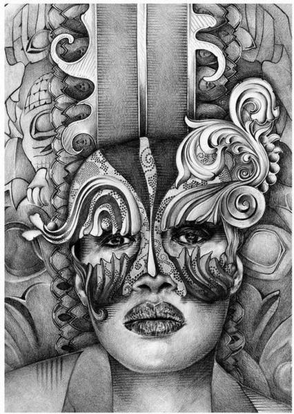 100004,xcitefun pencil 12 Mind Blowing Pencil Art by T. S. Abe image gallery gallery
