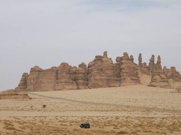 Madain Saleh The Rocky Place  Saudi Arabia