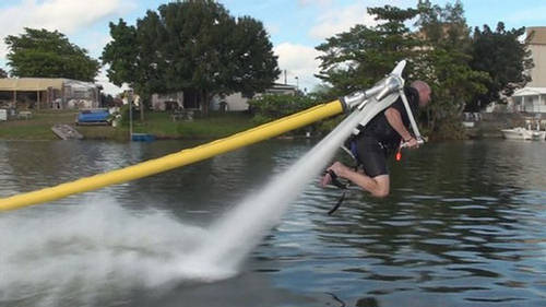 Jetlev-flyer: water jet packs - flying fun