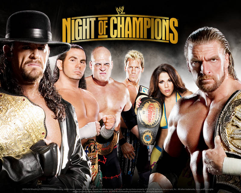 wallpapers of wwe. WWE Night of Champions 2009