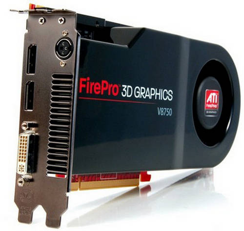 Ati firepro v8750 3d graphic card