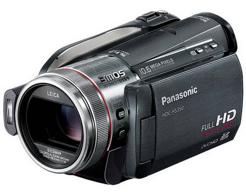 Panasonic HDC-HS350 HD digital camcorder