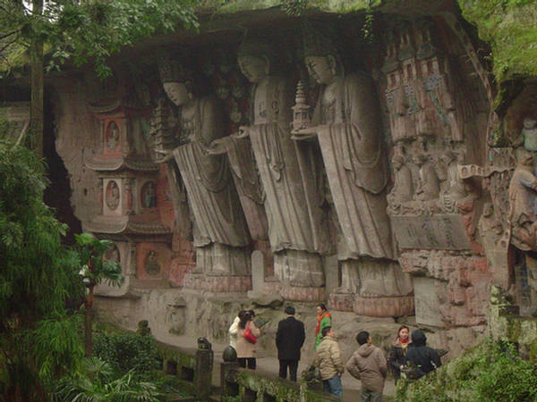 Dazu rock carvings a unesco world heritage site in
