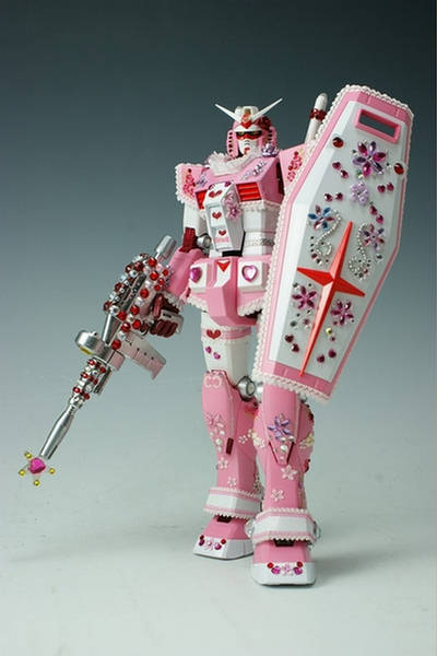Girly Gundam Rx78 Action Figure Hello Kitty Xcitefun Net