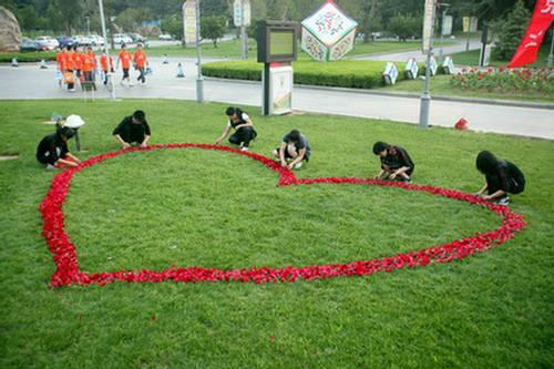 Most romantic wedding proposal china