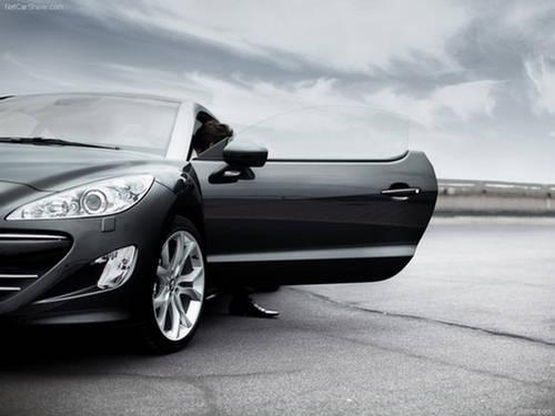 Peugeot RCZ 2010: Black Beauty : Automobiles