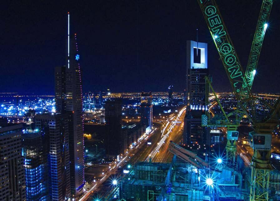dubai city wallpapers. Dubai City at Night