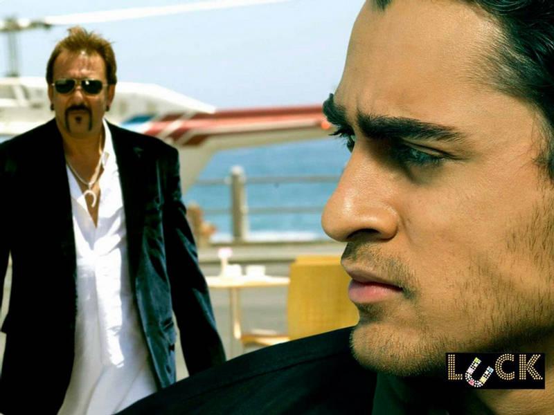 DUBAIBLOGGER: Sanjay Dutt as Mafia King: Luck Movie Wallpapers