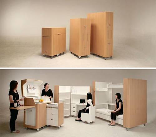 Transformer Furniture Room In A Box