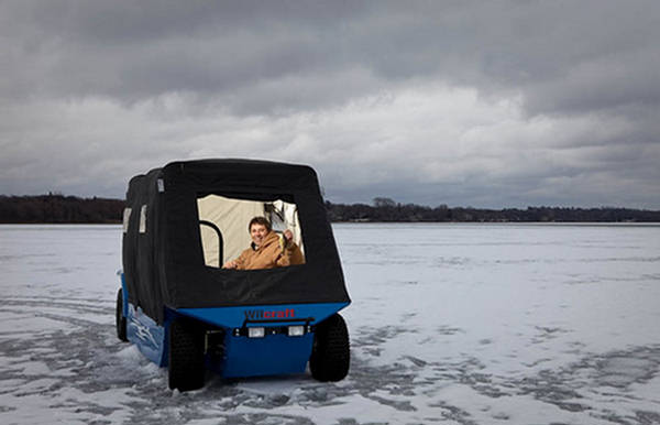 Wilcraft The Ultimate Ice Fishing Vehicle Xcitefun Net