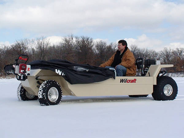 Wilcraft the ultimate ice fishing vehicle for Snow bear ice fishing