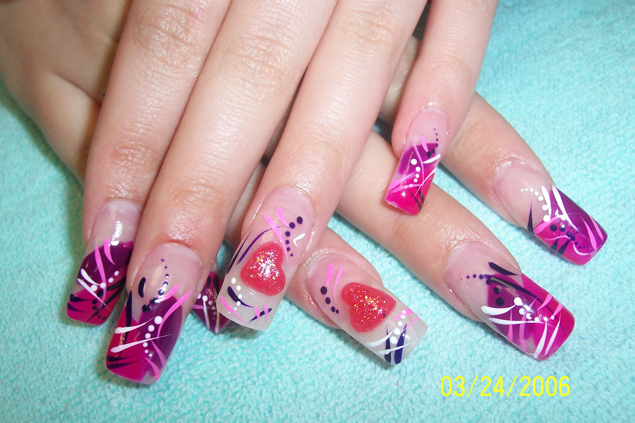 Nail Design Pictures Designs 2014 Tumblr Step By For Short Nails With Rhinestones Bows Acrylic Summber Ideas