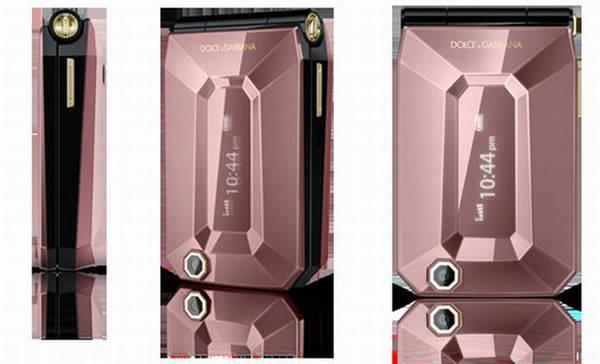 Sony Ericsson Dolce & Gabbana Fashion Flip Phone