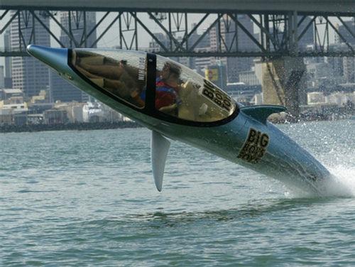 как выпрыгивает подводная лодка