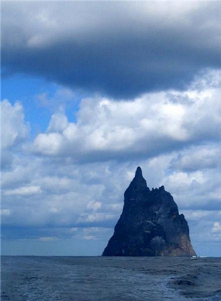 Ball Pyramid Tallest Volcanic Stack Ocean Mountain