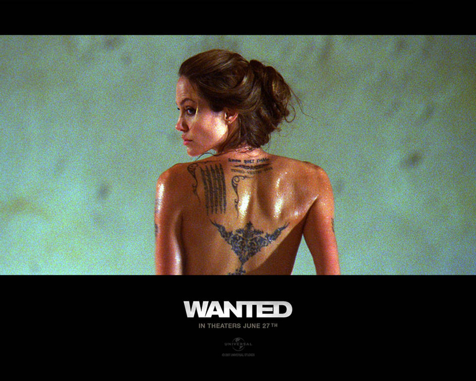 angelina jolie wallpaper 2009. Wanted 2 Angelina Jolie Action