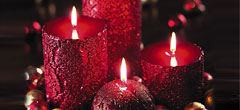 Attractive  Beautiful Candles