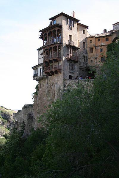 Casas Colgadas: The Hanging Houses - Cuenca, Spain ...