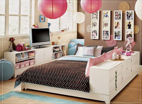 Black and turquoise bedroom panda s house - Bedroom The Castle Of Teen Girls Cute Furniture