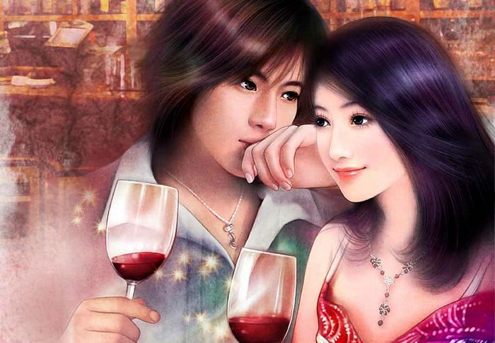 صور رسومات رومانسية وجميلة فى غاية الابداع