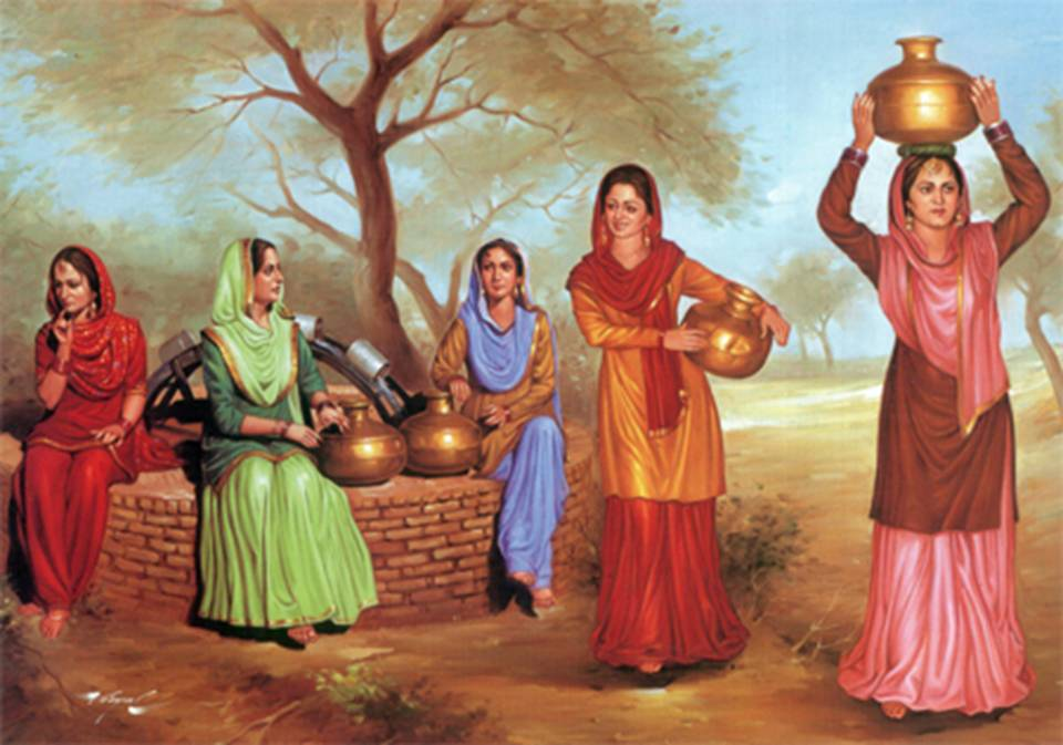 46884 Post subject: The Richest Punjabi Culture  Paintings Part 2