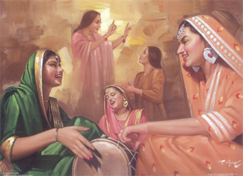 The Richest Punjabi Culture - Paintings (Part 2 ...