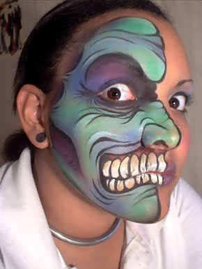 Crazy Face Painting