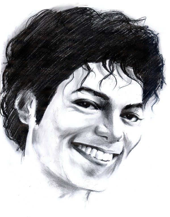 majestic pencil sketches of michael jackson by toma florin