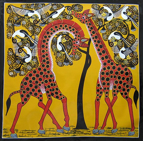 The world is not enough innovative and brilliant african for African mural painting