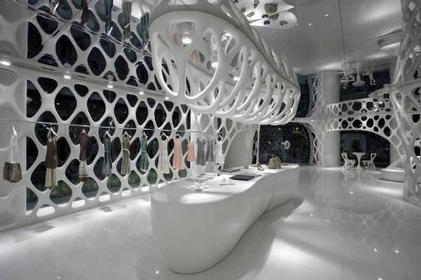 Shop Romanticism The Metal Frame Fabric Architecture
