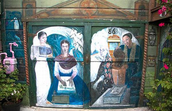 Graffiti Art Customize Your Garage Door Photo Gallery