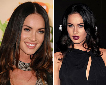 megan fox hair colour. The Latest Celebrity Hair