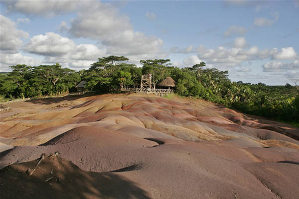 Colored Earths Geological Wonder  Chamarel Mauritius