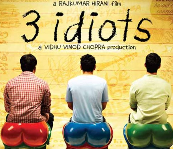 3 Idiots Movie Poster - First Look - XciteFun.net
