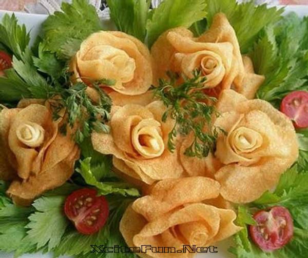 potato roses russian cuisine. Black Bedroom Furniture Sets. Home Design Ideas