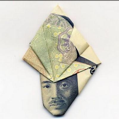 Seni Melipat Uang
