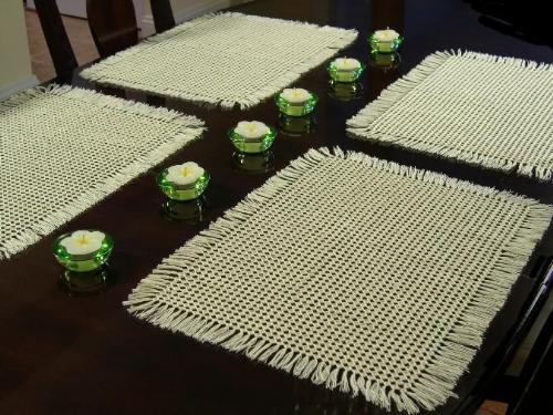 Beautiful Table Mats Xcitefun Net