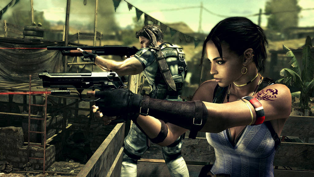 resident evil wallpapers. PS3 Wallpaper Resident Evil 5