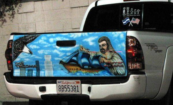 Mexican Tailgate Airbrushed Murals Xcitefun Net