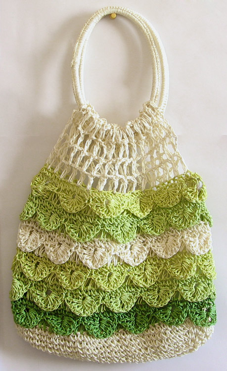 Crochet Communion Bag Pattern : Stylish Crochet Bags
