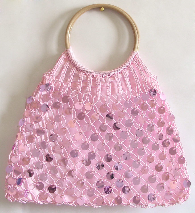 Crocheted Handbag : CROCHET HAND BAG Crochet For Beginners