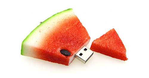 Realistic food usb flash drives - Cuisine flash but ...