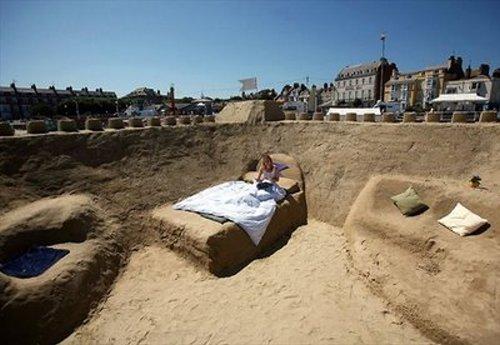 Sand Castle Seaside Hotel Dorset England