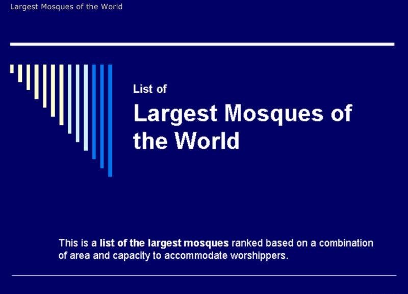 131933xcitefun 1 - World Largest Masjid's