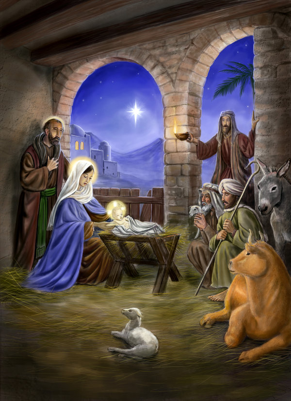 Famous Painting of the Nativity http://forum.xcitefun.net/christmas-nativity-art-t41563.html