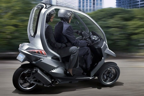 Peugeot Hybrid Motorcycle Car 118 Miles To The Gallon