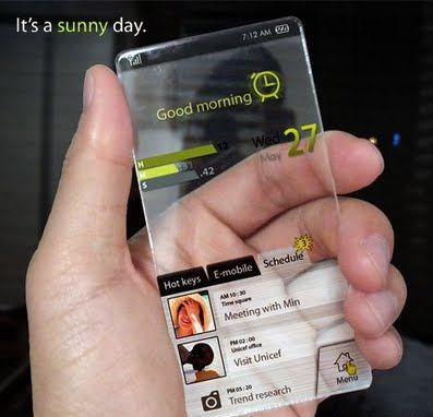 Transparent Windows MOBILE