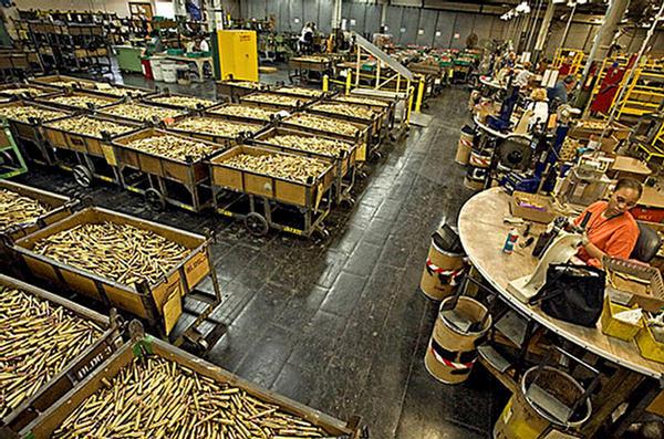 bullet manufacturing machine