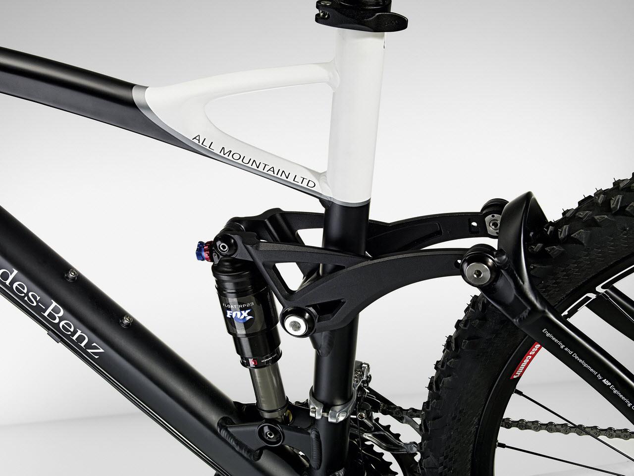 A bike from mercedes benz for Mercedes benz folding bike