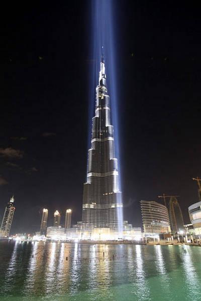 Burj Dubai aka Burj Khalifa Opening Ceremony